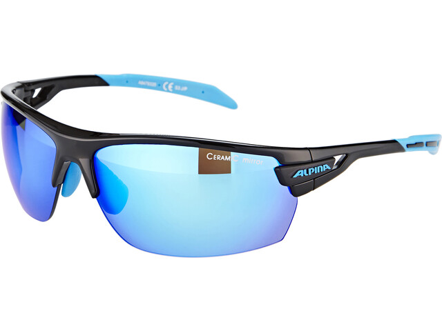 Alpina Tri-Scray Glasses black-cyan